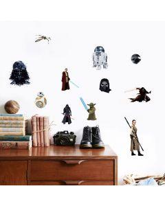 Diverse personages uit Star Wars