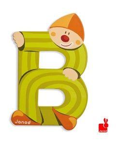 Janod Clown Letter - letter B