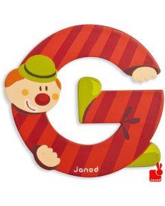 Janod Clown Letter - letter G