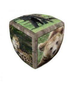 V-Cube 3 Wild Animals (kubus met bolle zijden)