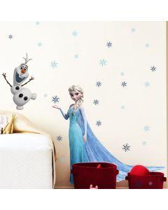 Prinses Elsa en Olaf Frozen