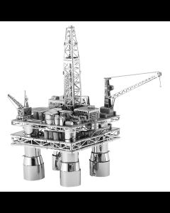 Boorplatform en olietanker - Metal Earth Bouwpakket