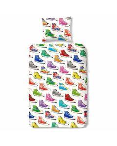Dekbedovertrek Flanel Sneakers
