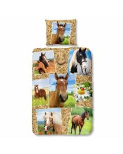 Dekbedovertrek met Paarden