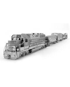 ICONX Metal Earth goederentrein (Freight Train) Gift-Box